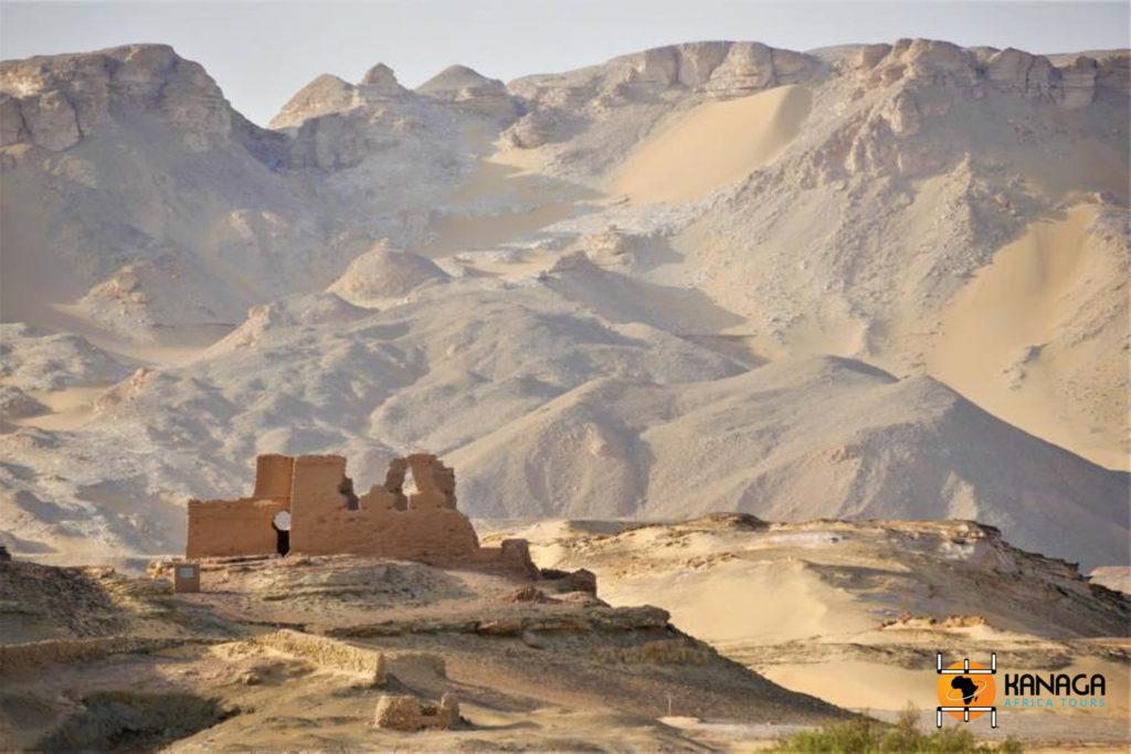 Egitto, Fortezza romana lungo il LImes, Foto di M. Santoro