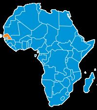 Mappa Senegal