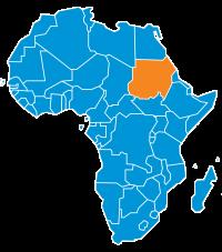 Mappa Sudan