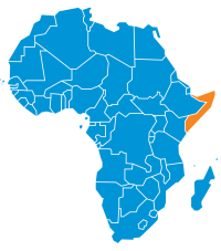 Mappa Somalia